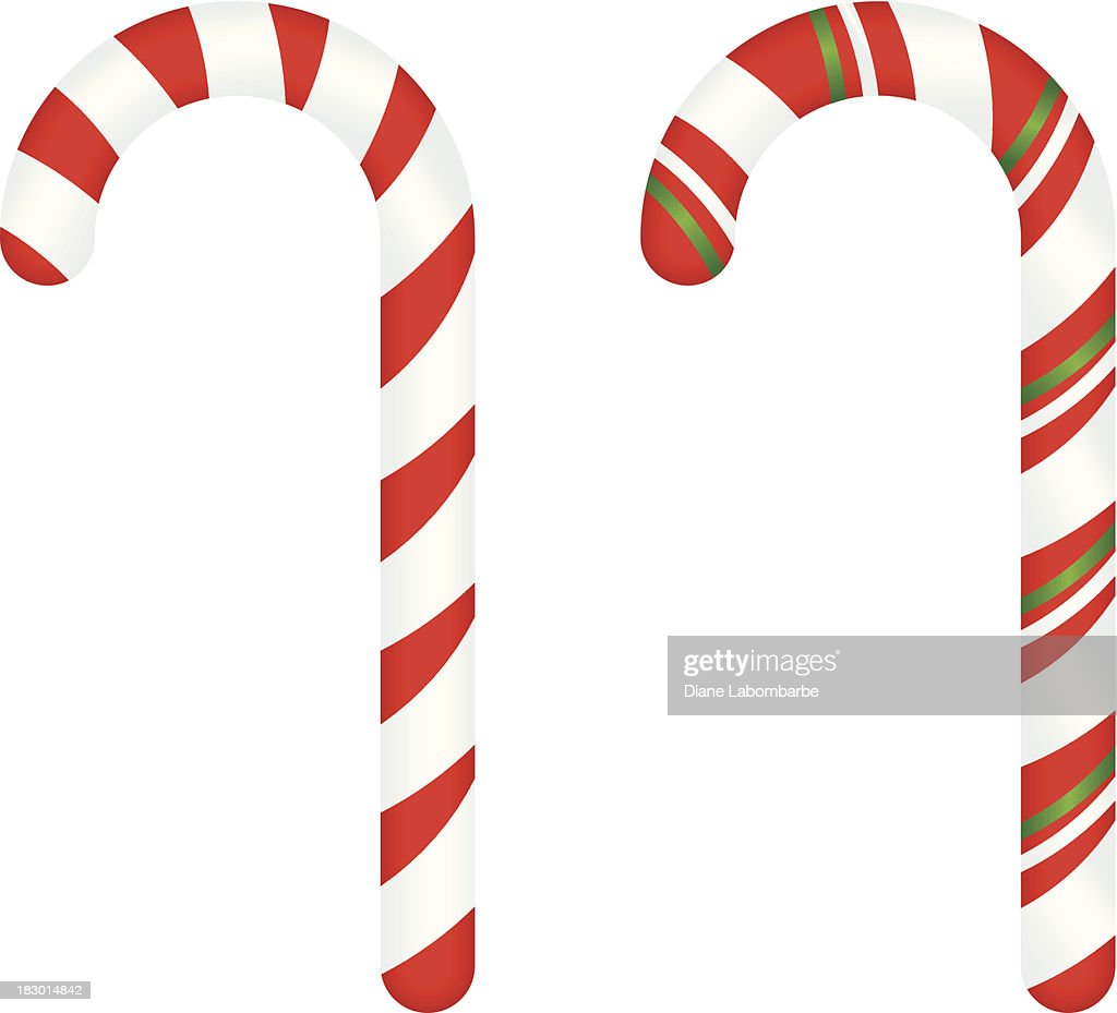 candy canes vector art getty images rh gettyimages com candy cane vector png candy cane vector pattern