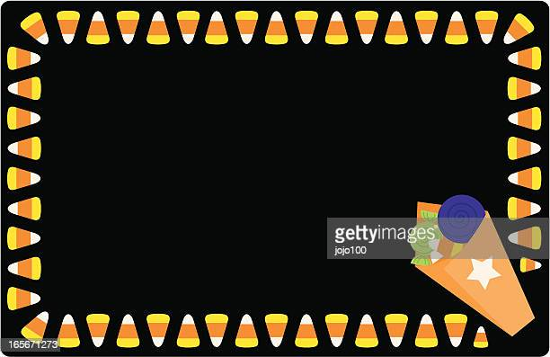 Candy Corn Invite or Place Card