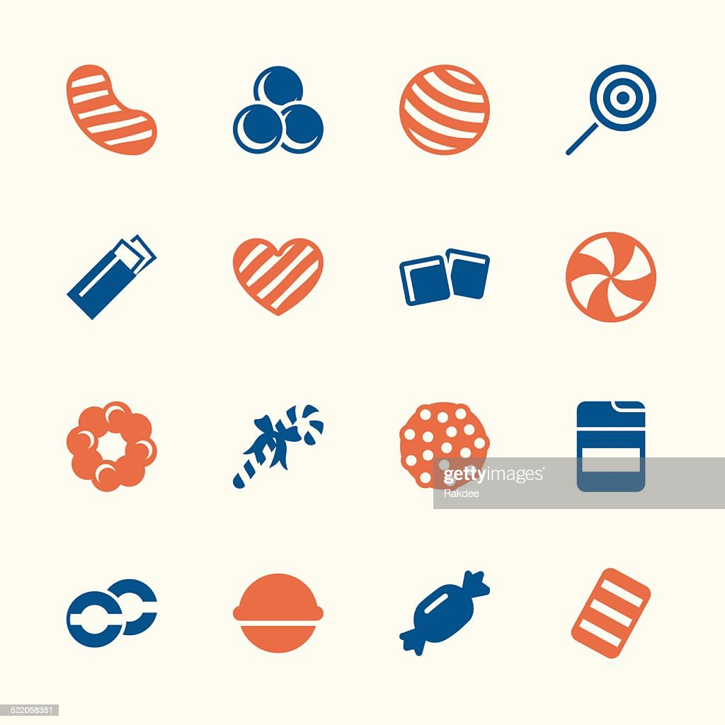 Candy Icons Set 4 - Color Series
