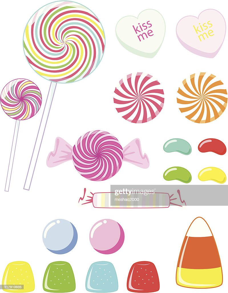 Candy - variety of types