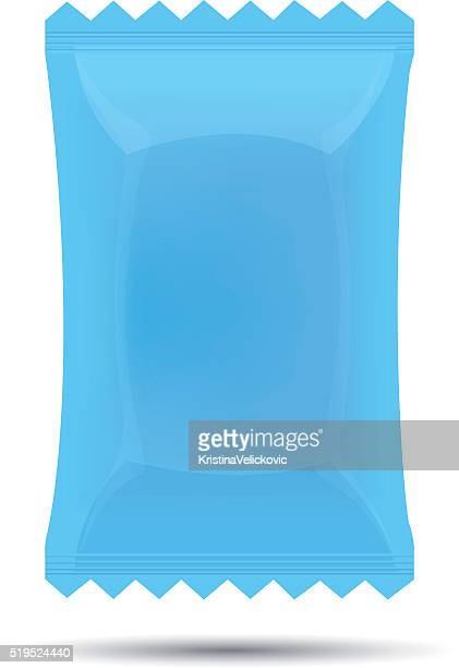 candy wrapper - milk chocolate stock illustrations, clip art, cartoons, & icons