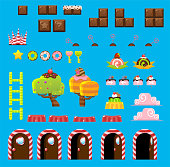 Candyland Game Objects
