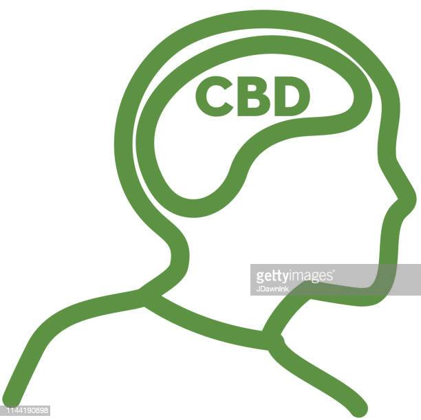 Cannabis CBD Effects on the brain products Icon