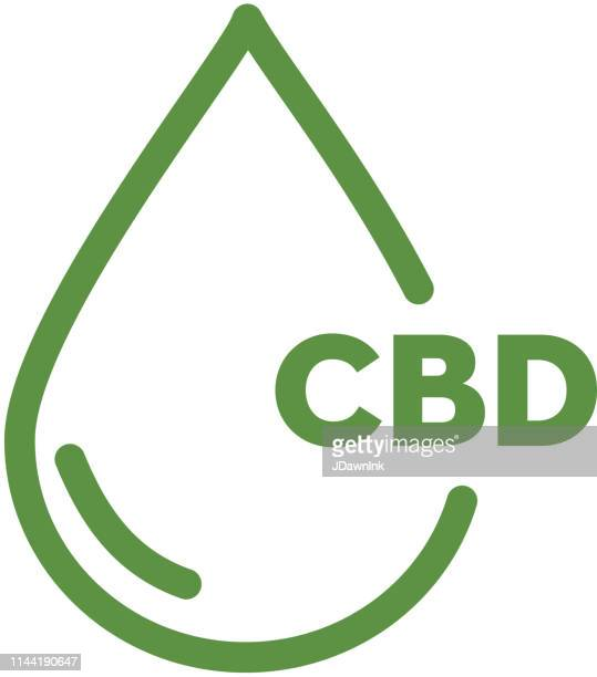 Cannabis CBD Oil Products Icon