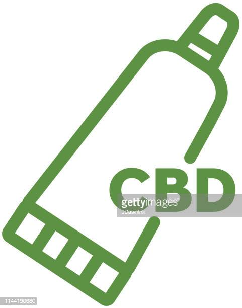 Cannabis CBD Topical Cream Oil Products Icon