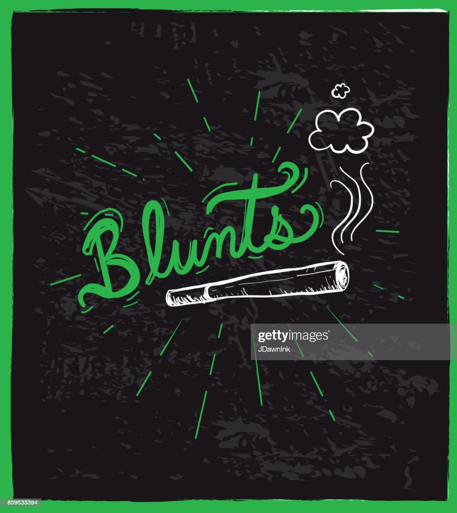 Cannabis weed culture hand drawn labels designs : Stock Illustration