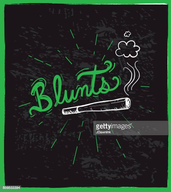 cannabis weed culture hand drawn labels designs - marijuana leaf text symbol stock illustrations, clip art, cartoons, & icons