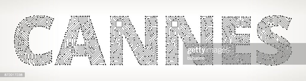 Cannes Circuit Board Vector Buttons Vector Art | Getty Images