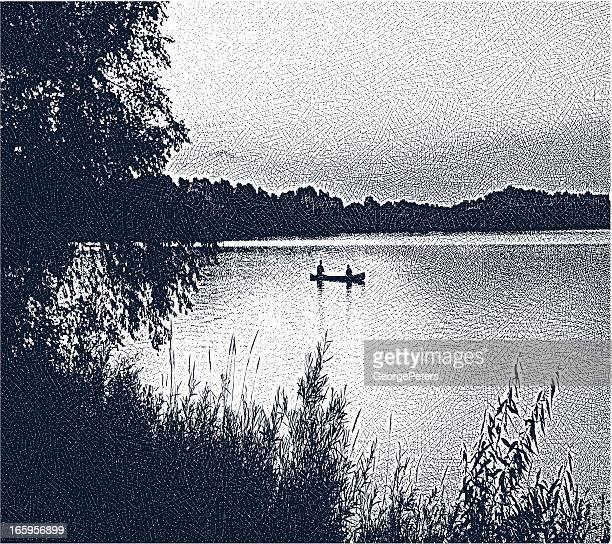 Canoeing and Fishing