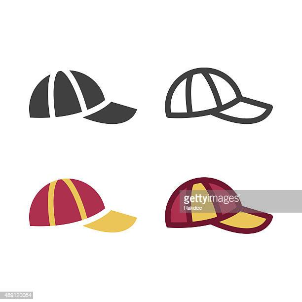 cap icon - hat stock illustrations