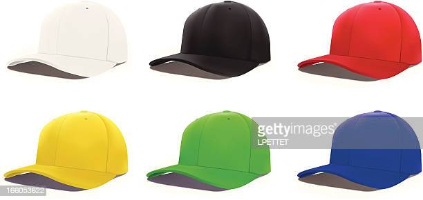 cap - vector illustration - cap hat stock illustrations, clip art, cartoons, & icons