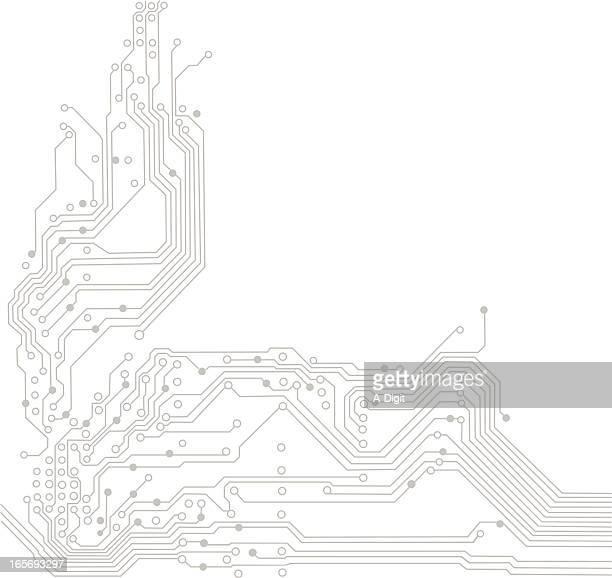 コンデンサ - 回路基板点のイラスト素材/クリップアート素材/マンガ素材/アイコン素材