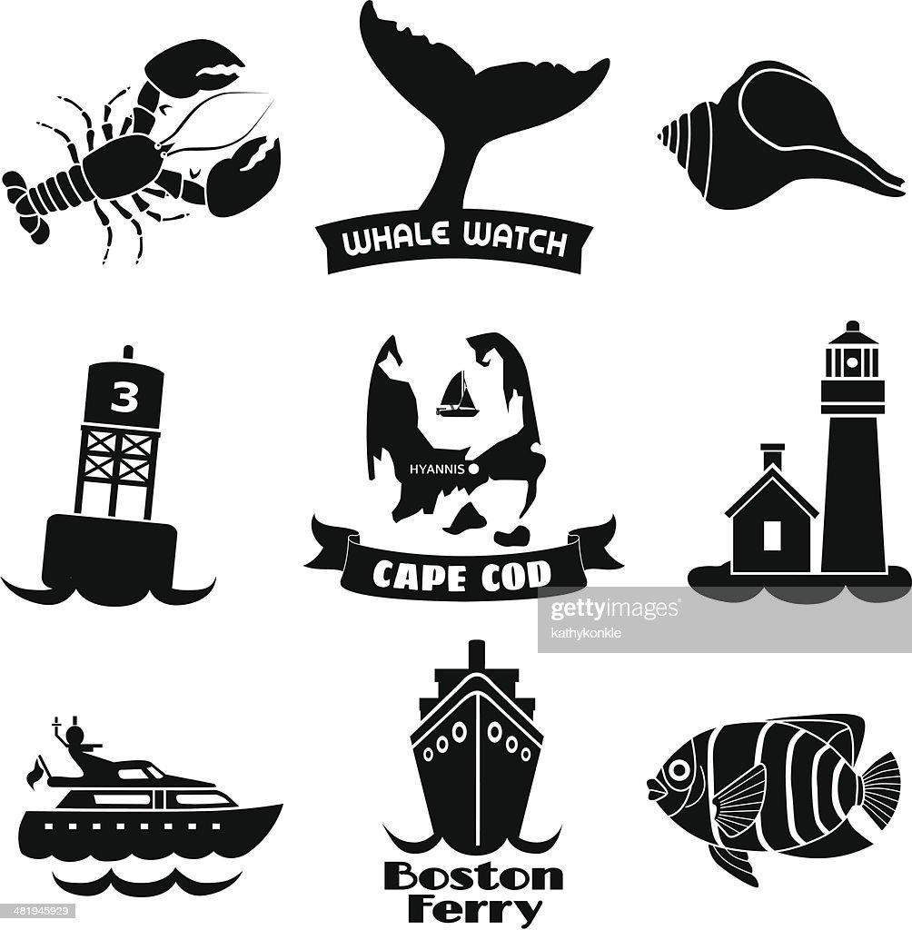 Cape Cod icons