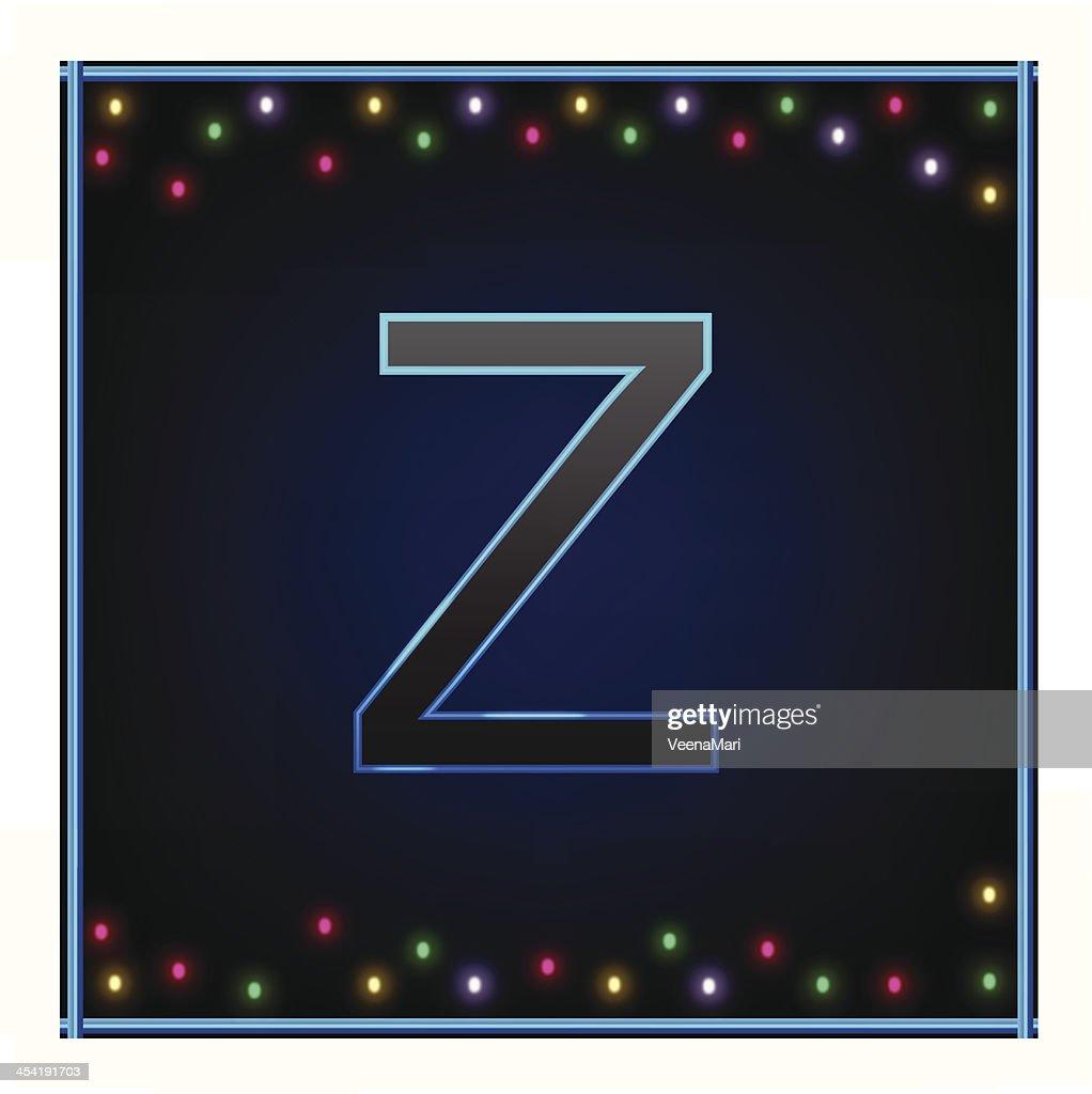 Capital letra Z : Arte vectorial
