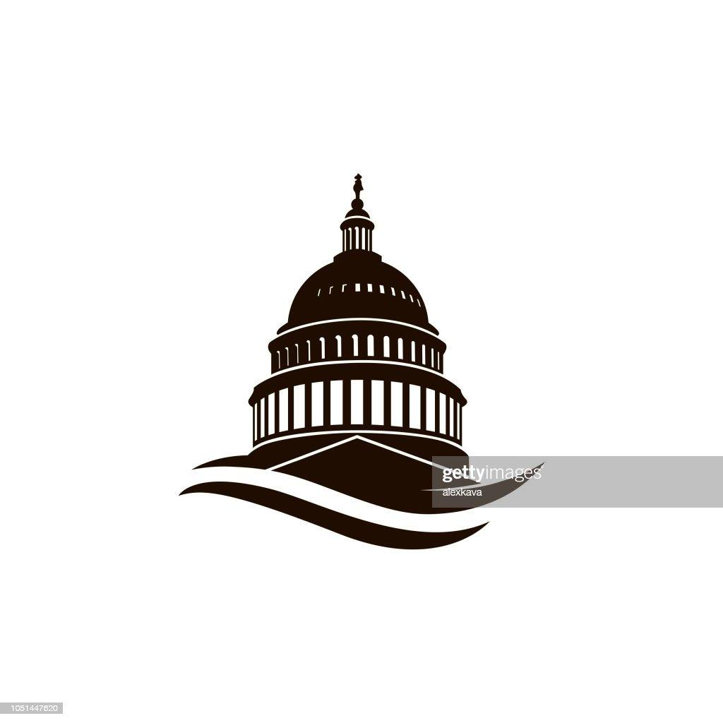 capitol building icon
