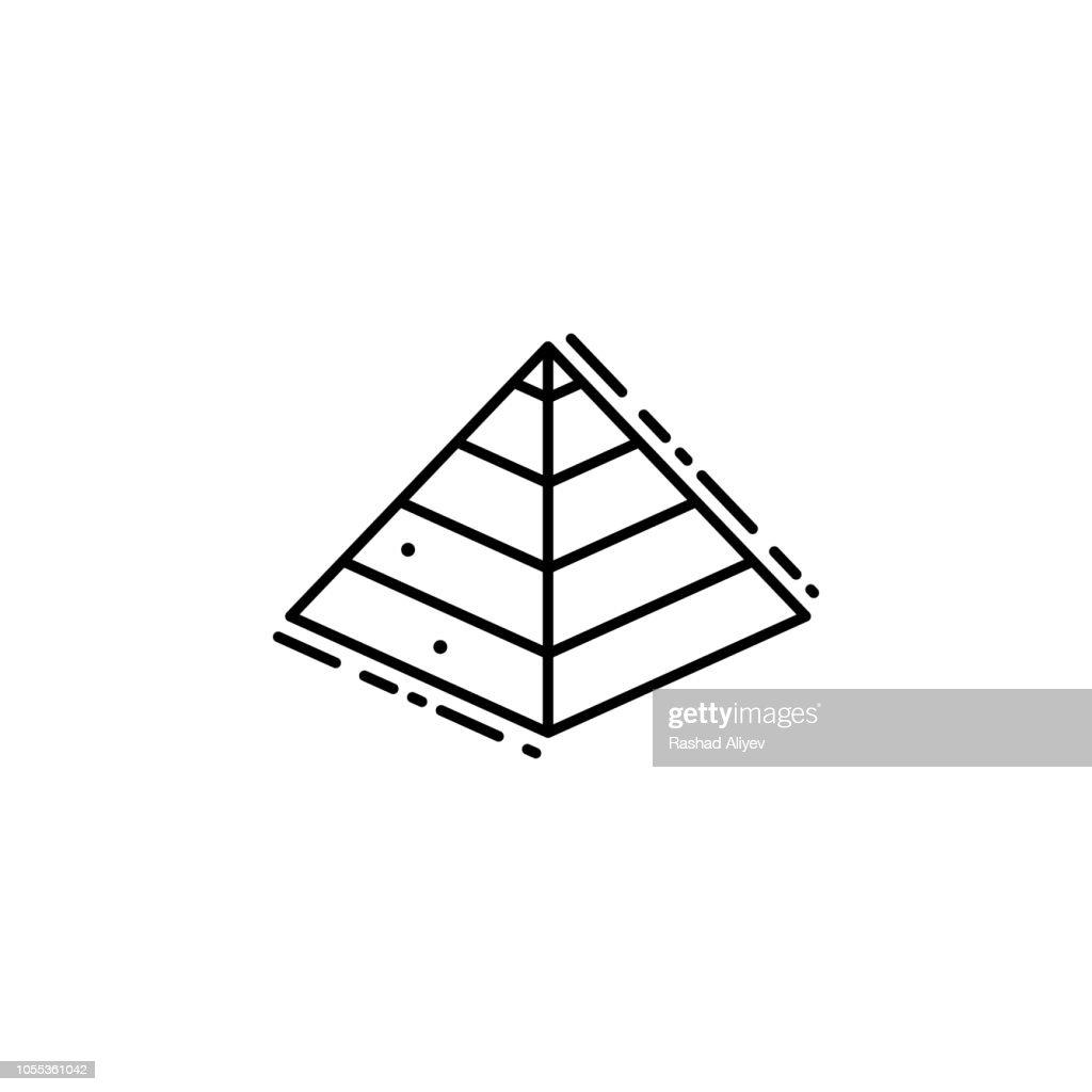Captives to Egypt icon. Element of Jewish icon for mobile concept and web apps. Thin line Captives to Egypt icon can be used for web and mobile
