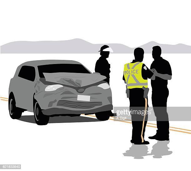 ilustraciones, imágenes clip art, dibujos animados e iconos de stock de car accident details - car crash