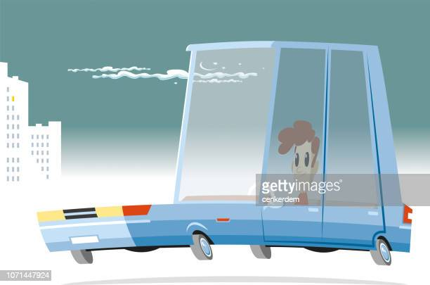 car and driver - car ownership stock illustrations, clip art, cartoons, & icons