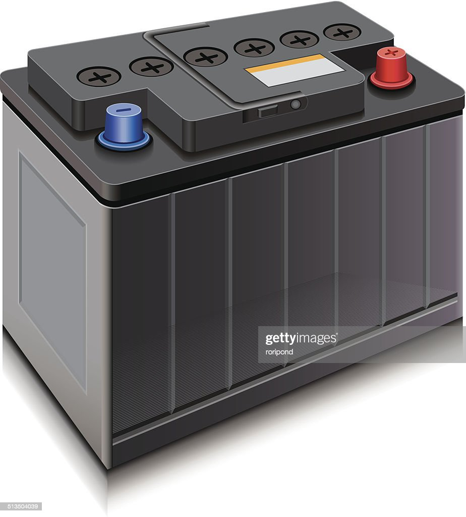 car battery high res vector graphic getty images 2