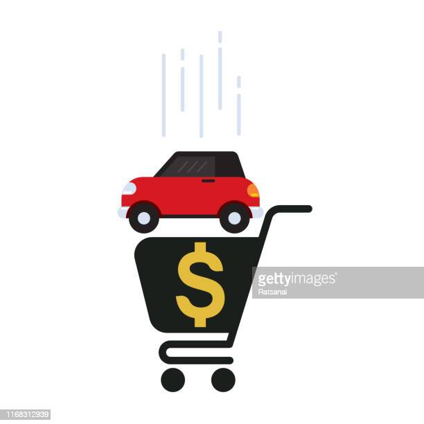car buyer - car ownership stock illustrations, clip art, cartoons, & icons