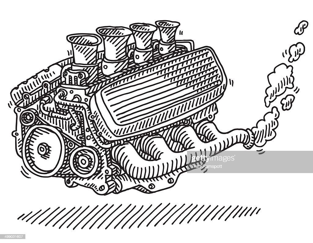 Enchanting Labeled Engine Parts Illustration - Wiring Diagram Ideas ...