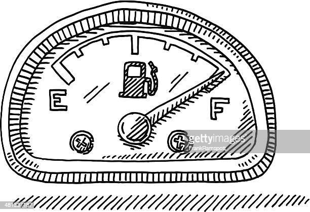 60 Top Fuel Gauge Stock Illustrations, Clip art, Cartoons