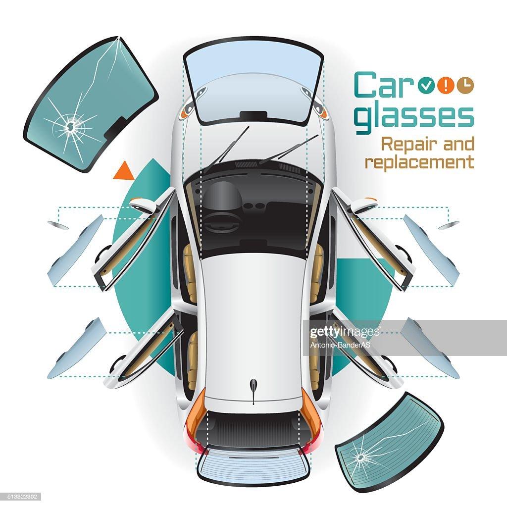 Car Glasses Repair and Replacement