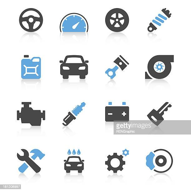 Car Icon Set | Concise Series