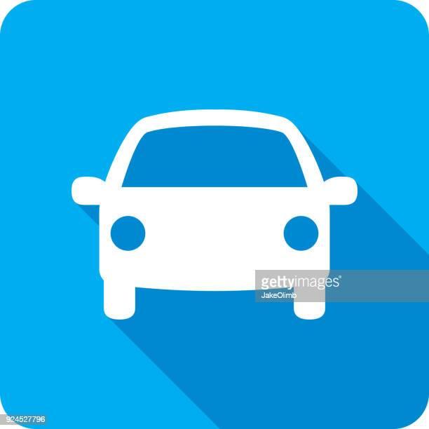 Car Icon Silhouette
