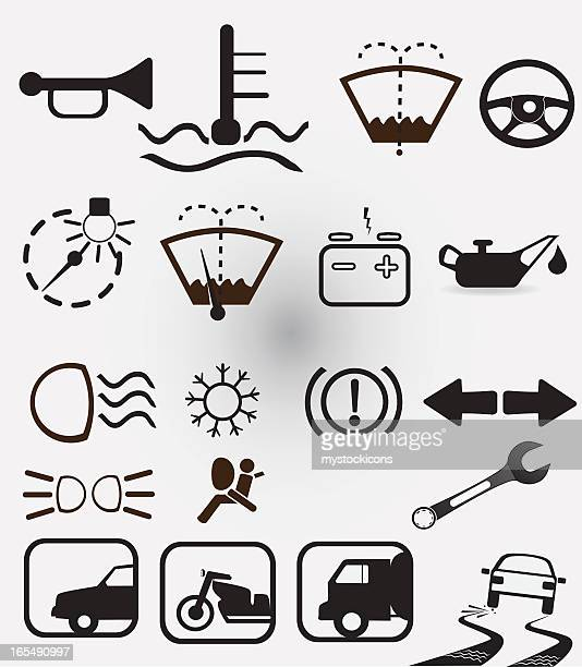 Car Indicator Icons