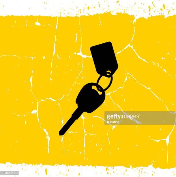 car key tag. - car key stock illustrations, clip art, cartoons, & icons