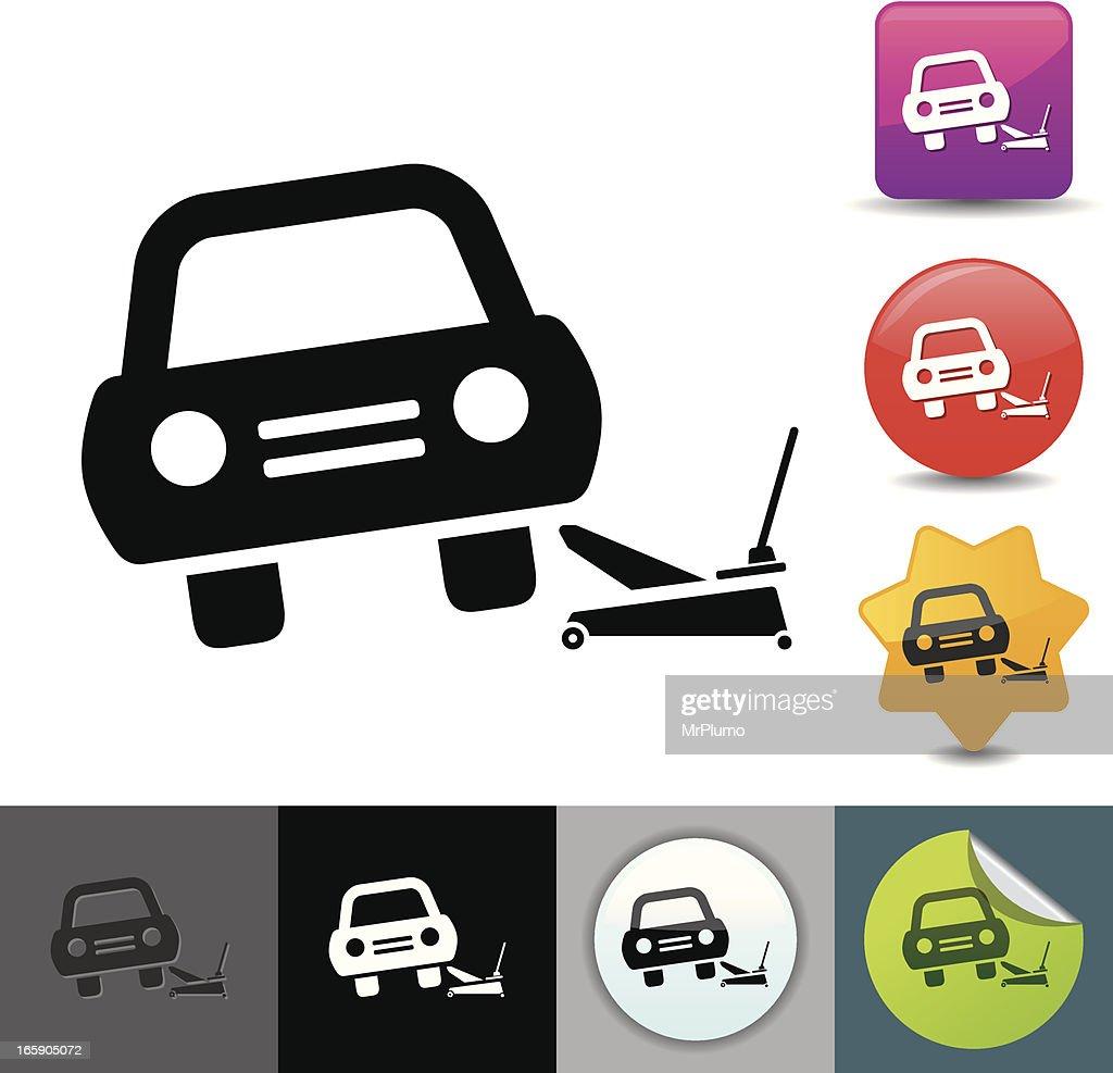 Car lifting icon | solicosi series