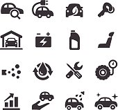 Car Maintenance Icons - Acme Series