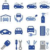 Car Maintenance Icons - Pro Series