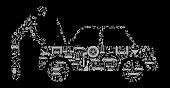 Car Mechanic  Auto Repair Cars and Automotive Vector Icon Background