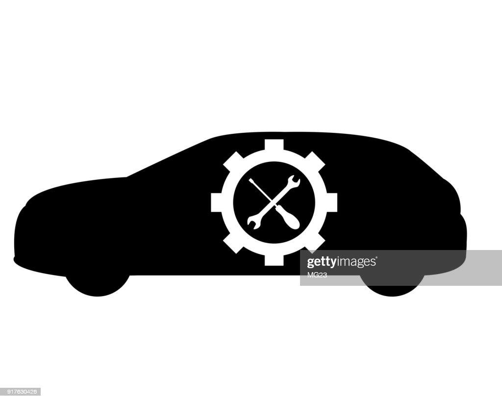 car mechanic logo vector