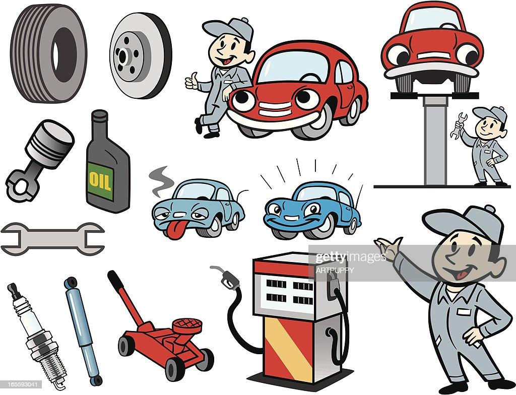Car Mechanic Stuff