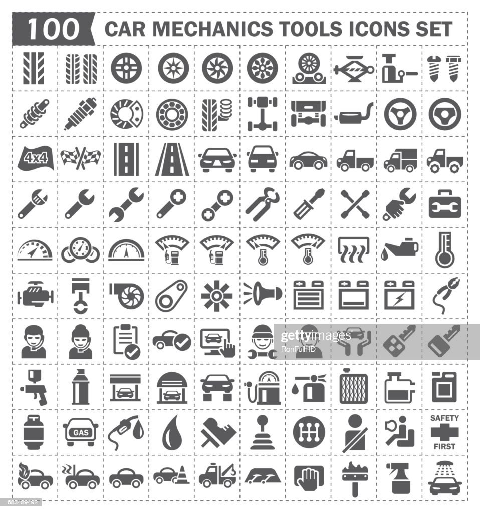 car mechanics icon