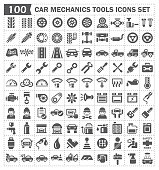 car mechanics icon