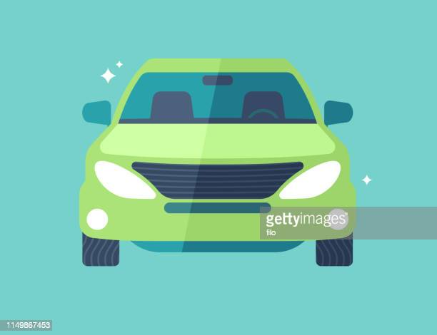 car or suv front view - {{asset.href}} stock illustrations