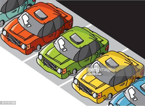 Car park routine