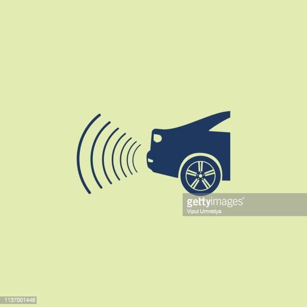 Car parking radar icon
