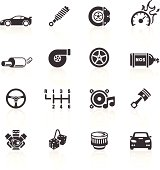 Car Parts & Performance Icons