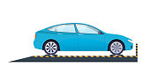 Car repair. Car service. Carrying crash test, diagnostics, technical inspection