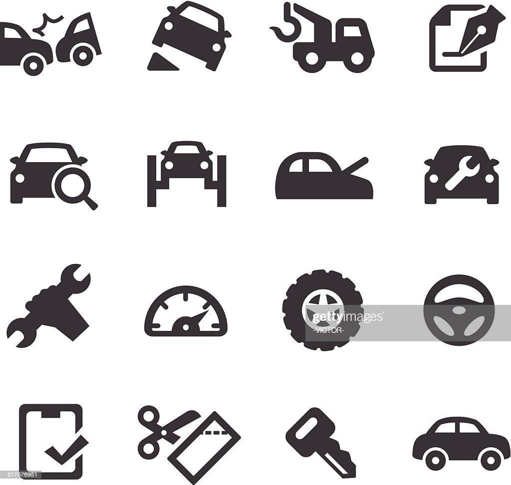 Car Repair Icons - Acme Series