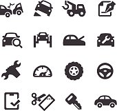 Car Repair Icons - Acme Series