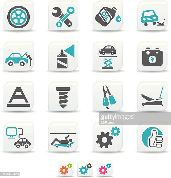 car repair icons | simicoso collection