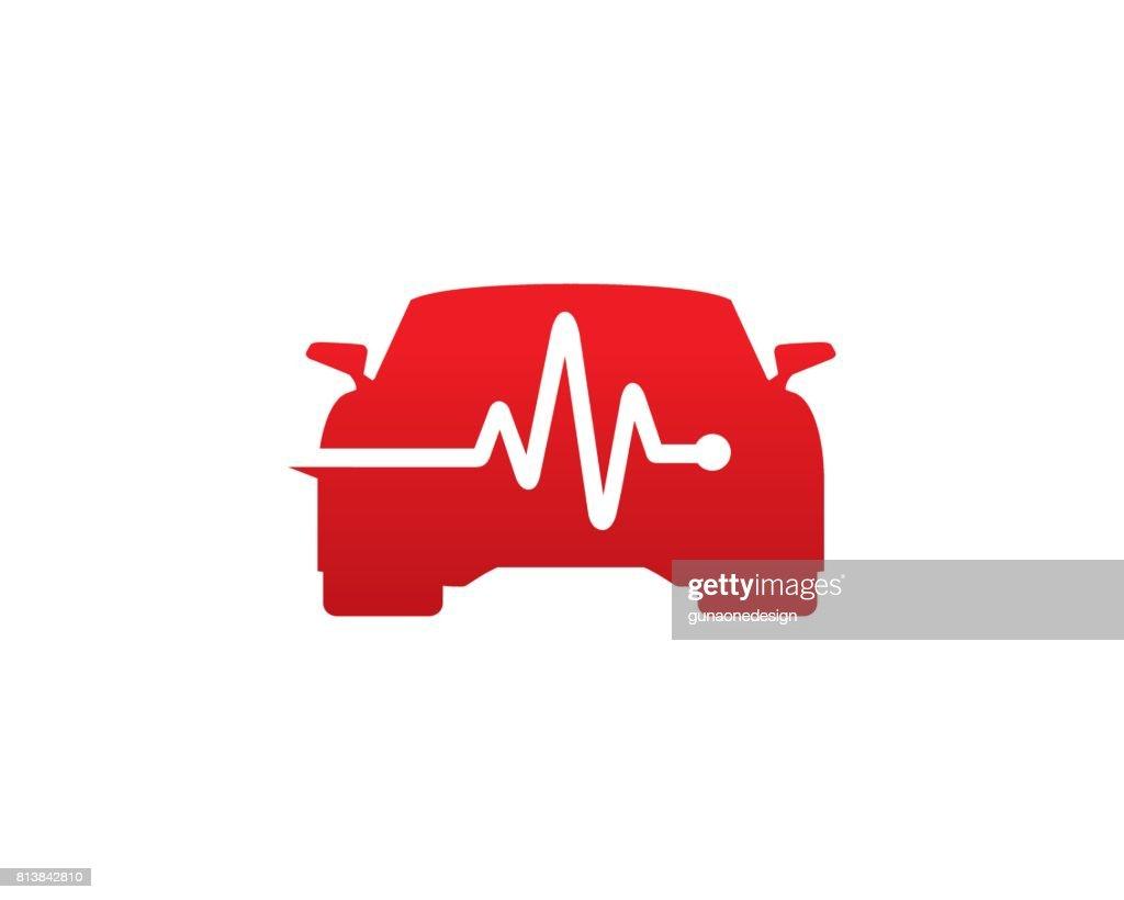 car repair symbol template design vector emblem design concept