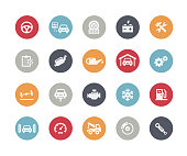 Car Service Icons // Classics