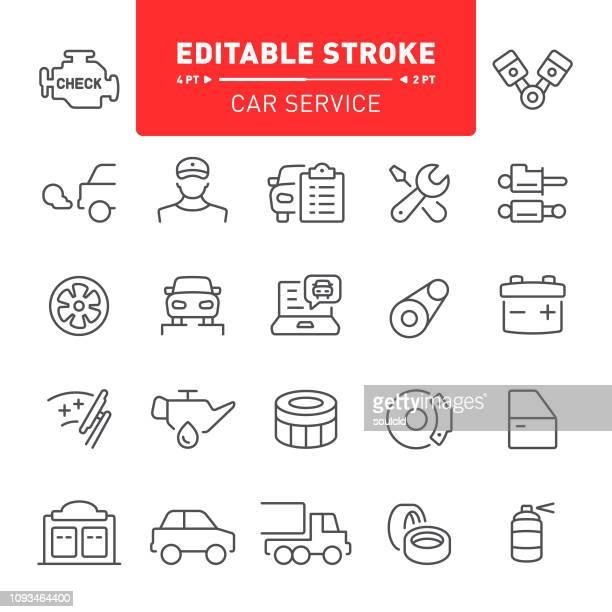 ilustraciones, imágenes clip art, dibujos animados e iconos de stock de auto servicio los iconos - puente colgante